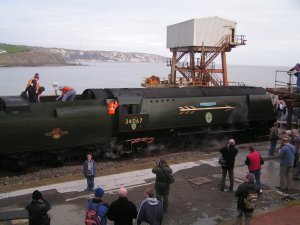 Tangmere in Folkestone Harbour Station
