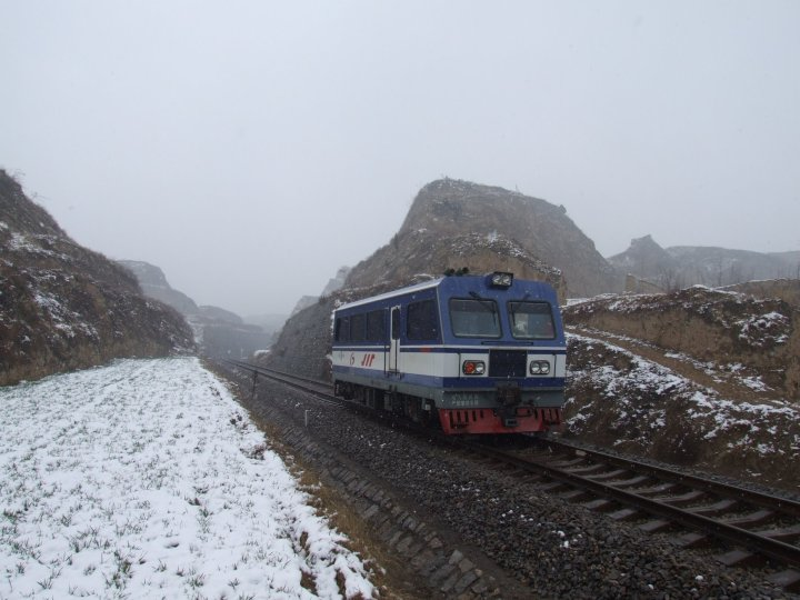 Railcar at Chenghe