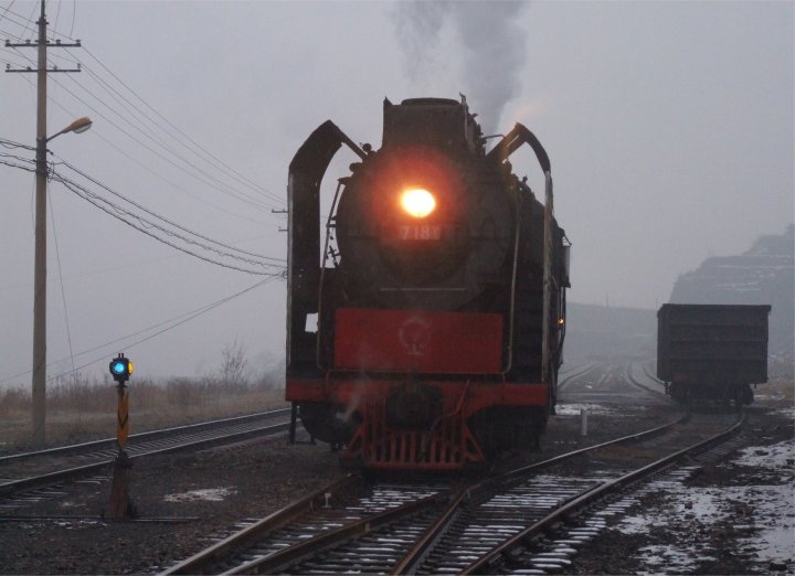 The light fades on QJ 7181