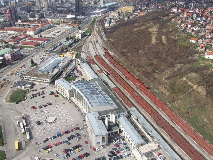 Railway station in Sarajevo