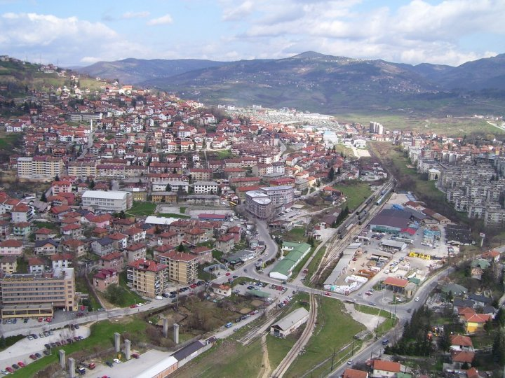 View from the Avaz tower