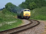 Warship D832 'Onslaught' approaches Nethercott