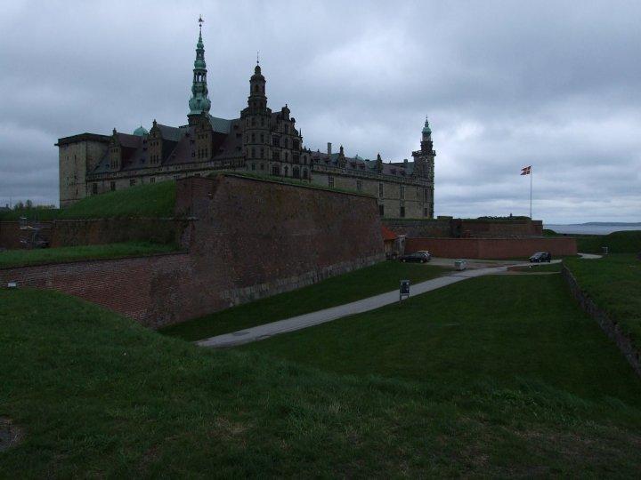 Kronborg under grey skies