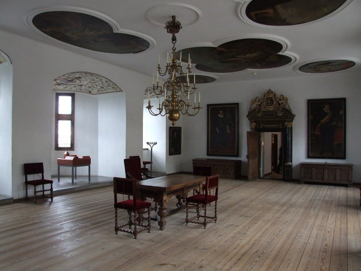 Interior view at Kronborg