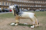 Lion de Fleur at The Circus