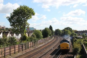 37611 leads the way at Shortlands