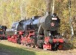 Kriegslok 555.0301 in steam at Lužná u Rakovníka