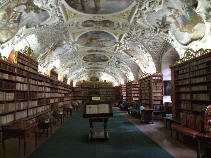 The Theological Hall at Strahov Monastery