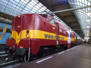 NVBS 1254 (ir. J.HOEKWATER) at Amsterdam Centraal
