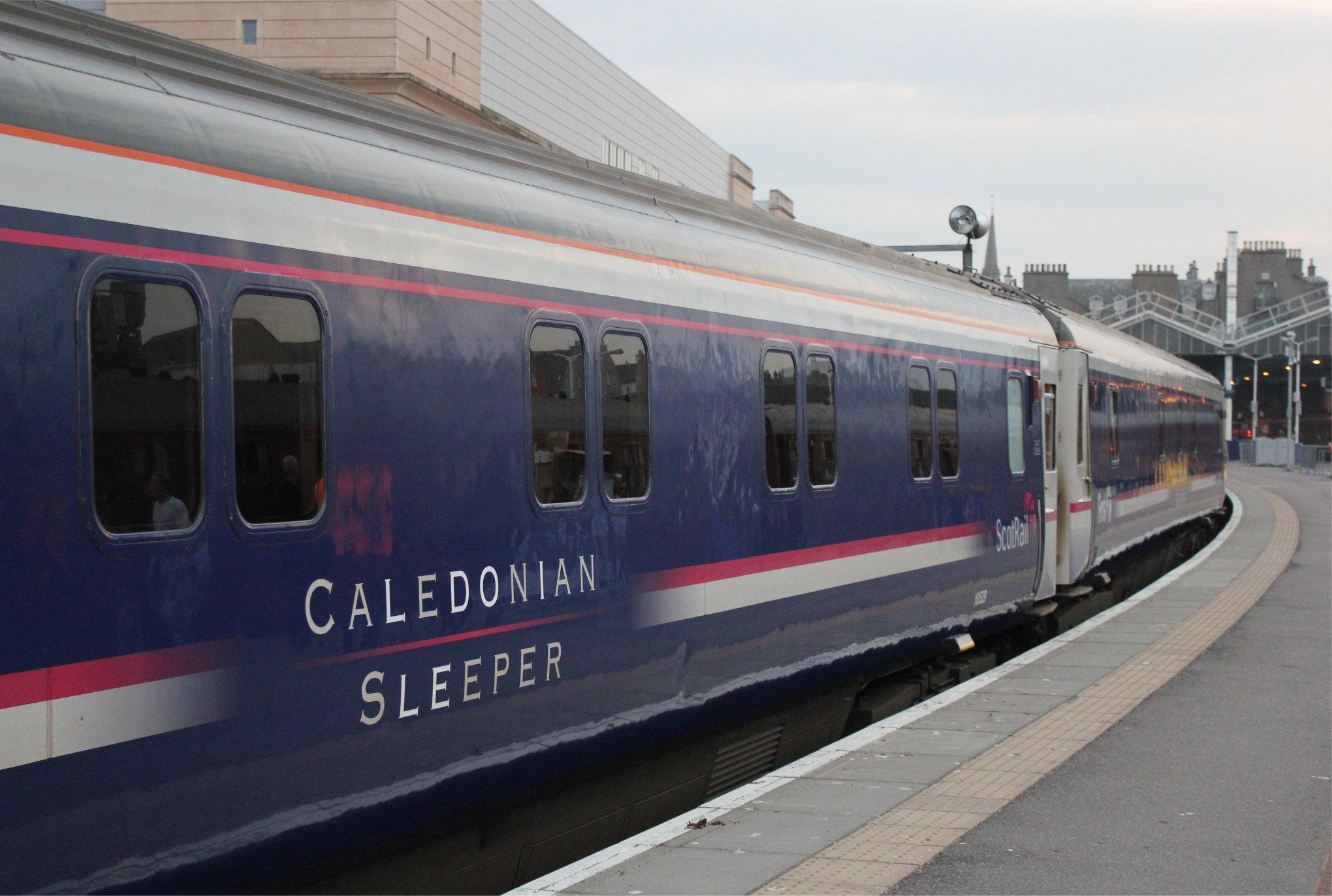 The caledonian sleeper folkestonejack 39 s tracks for The caledonia