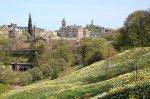 Edinburgh in the spring