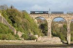 66417 passes the remains of Berwick Castle