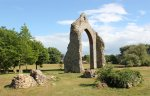 Ruins at Wymondham Abbey