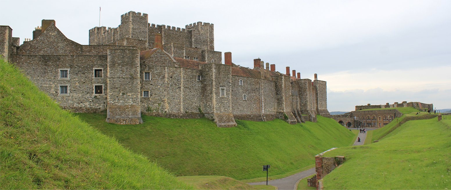 Dover Castle | FolkestoneJack's Tracks