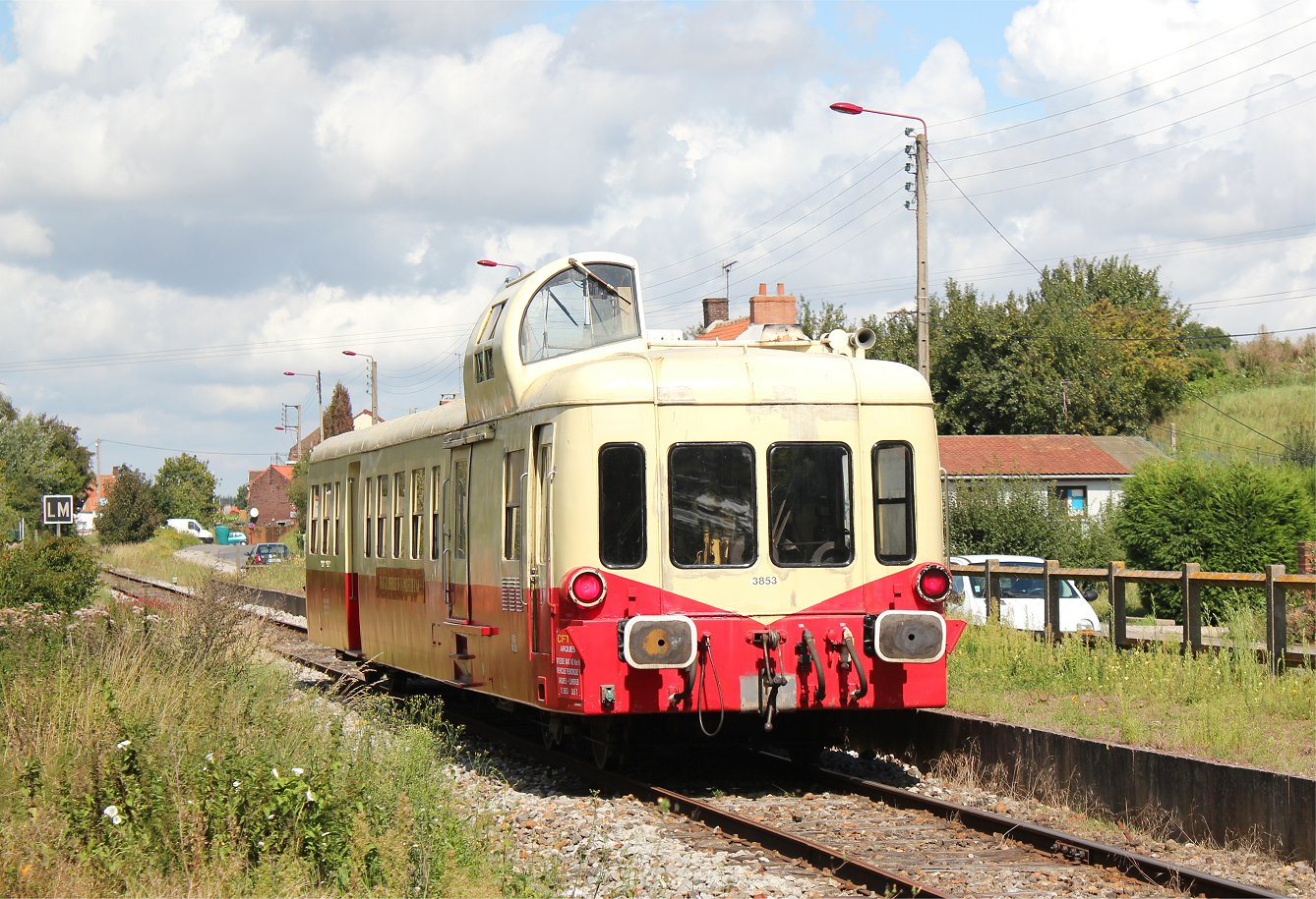 Arques France  city photos : Picasso railcar at Arques les Fontinettes