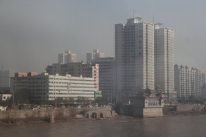 Lanzhou - on the banks of the Yellow River
