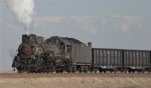 JS 8358 and the Tianshan mountains