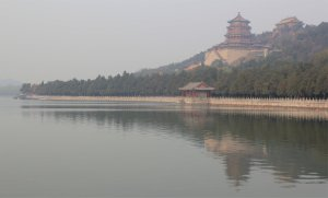 The Summer Palace in the morning mist