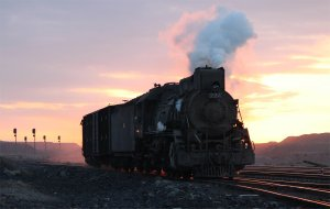 The morning passenger train arrives at Xibolizhan
