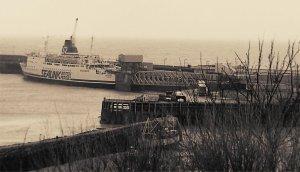 Hengist at Folkestone circa 1991