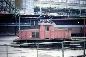 SJ Ub281 at Stockholm in 1984