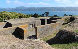 Command post for the Heavy Anti-Aircraft Artillery position on Somes Island