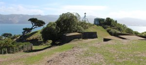 Gun emplacement on Somes Island