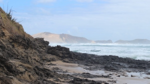 The view from Te Werahi to Cape Maria van Diemen