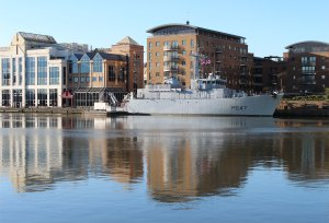 L' Aigle in West India Docks