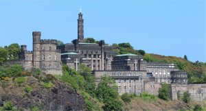 St Andrew's House and Calton Hill