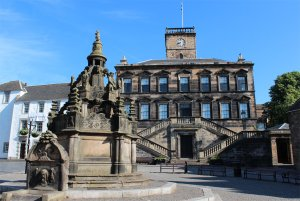Linlithgow Cross and Burgh Halls