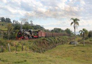 Alco no. 153 on the line to Jaguaruna