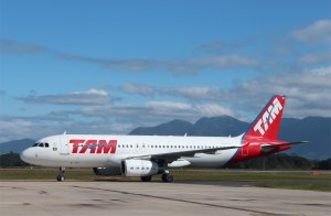 TAM Airbus A320 PR-MBZ: My ride to Sao Paulo