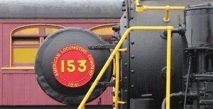 Under repair: Alco no. 153