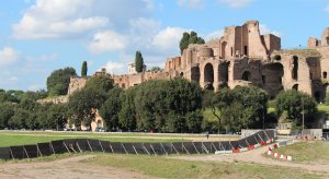 The Palatine Hill from Circus Maximus