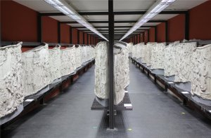 The casts of Trajan's Column in the Museo della Civiltà Romana