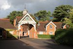 The entrance to the Stable Yard, Bletchley Park