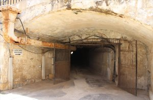 Entrance to Lascaris War Rooms