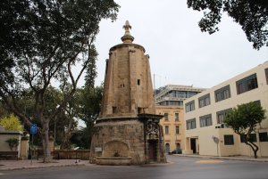 The Wignacourt Water Tower, Floriana, Malta