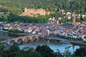 Heidelberg from the Philosophers' Way