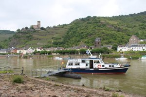 Ferry to the castle