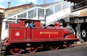 Met No. 1 passes through Westbourne Park