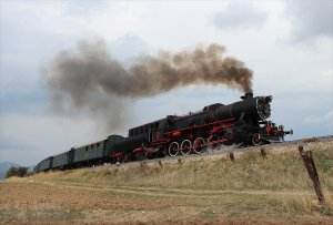 Steam en route to Banaz