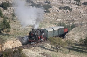 Steam on the Isparta branch
