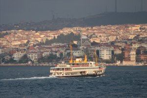 Ferry across the bosphorus