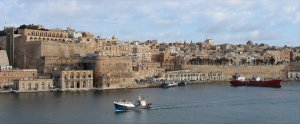 The beautiful city of Valletta
