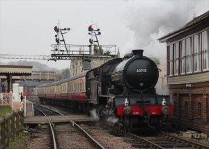 Class D49 locomotive No. 62712 Morayshire