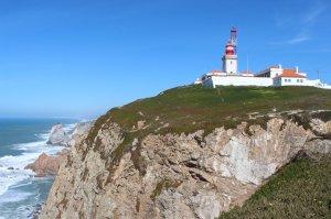The lighthouse at Cabo da Roca