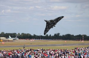 An impressive take off at the Royal International Air Show