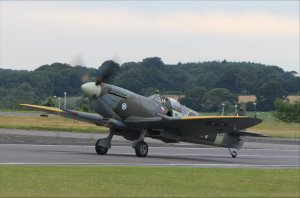 Spitfire LF Mk.XVIe TE184 (wearing the colours of Flt Lt Otto Smik, 'B' Flight Commander, 312 Czech Squadron)